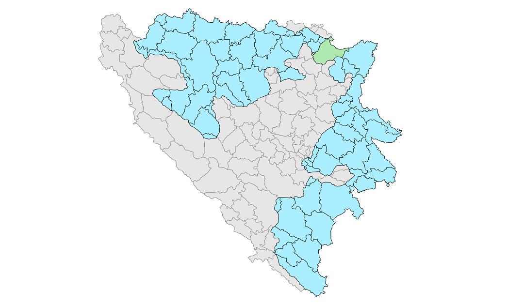 Rrugëtimi i Republika Srpska në Bosnje, deri në njohjen e saj ndërkombëtarisht