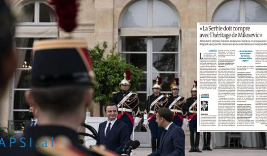 Intervista e plotë në Le Monde/ Albin Kurti tregon se ç'bisedoi me Makronin për Kosovën